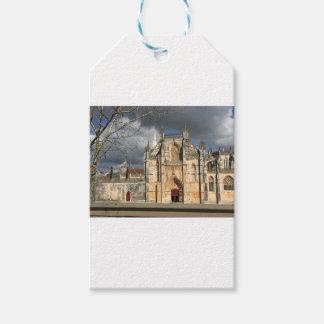 Château portugais étiquettes-cadeau