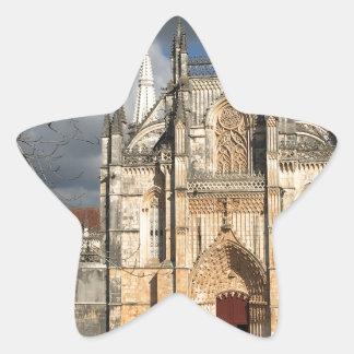 Château portugais sticker étoile