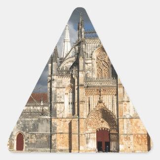 Château portugais sticker triangulaire