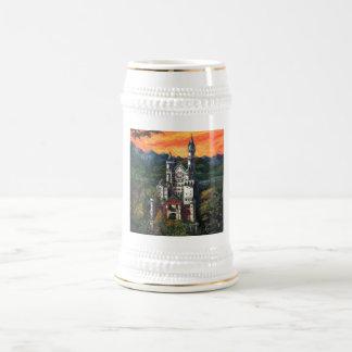 Château Schloss Neuschwanstein Chope À Bière