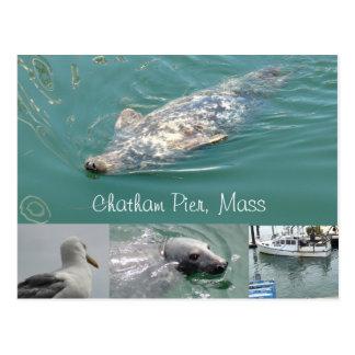 Chatham, carte postale de masse avec les joints