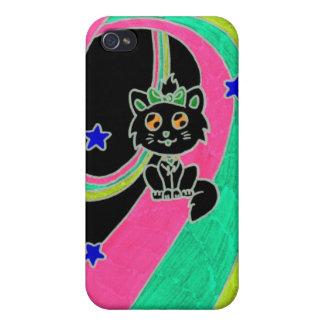 chaton mignon coque iPhone 4
