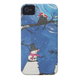 Chats de Noël dans l'amour Coques iPhone 4
