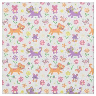 Chats et copie de souris tissu