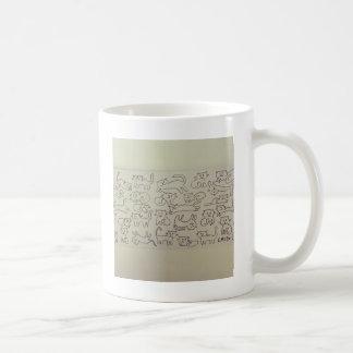 Chats heureux mug