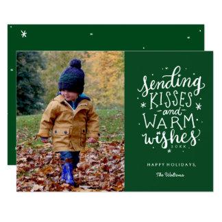 Chauffez le carte photo de vacances de souhaits