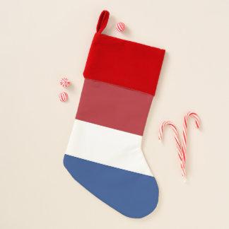 Chaussette De Noël Bas de Noël avec le drapeau de Pays-Bas