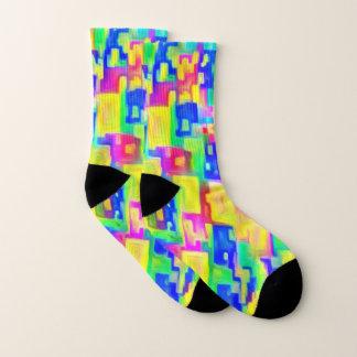 Chaussettes colorées lumineuses