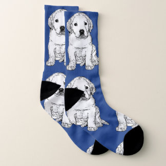 Chaussettes de chiot de labrador retriever