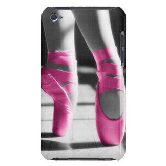Chaussures de ballet roses lumineuses étuis iPod touch