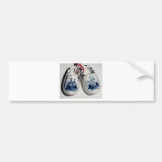 chaussures de la Hollande Autocollant De Voiture