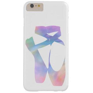 Chaussures de Pointe de ballet d'arc-en-ciel Coque iPhone 6 Plus Barely There