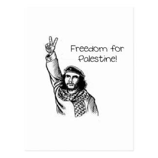 Che Guevara, liberté pour la Palestine ! Carte Postale