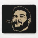 Che Guevara met het Portret Mousepad van de Sigaar Muis Matten
