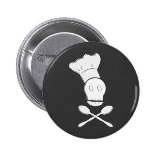 Chef de pirate badge rond 5 cm