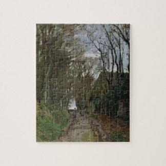 Chemin de Claude Monet | en Normandie Puzzle