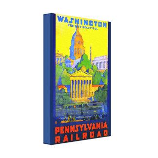 Chemin de fer de la Pennsylvanie à DC de Toile