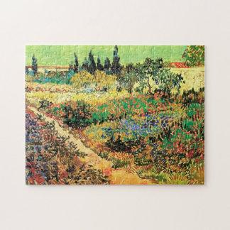 Chemin de jardin fleurissant de Van Gogh, Puzzle