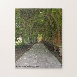 Chemin de marche puzzle