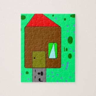 Chemin de porte de Chambre, peinture de Digitals, Puzzle