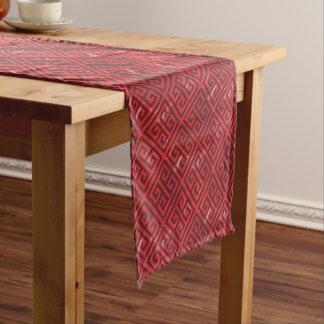 Chemin De Table Court Amende rouge de Talosian