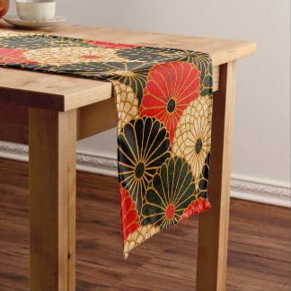 Chemin De Table Court Copie traditionnelle vintage de papier japonais