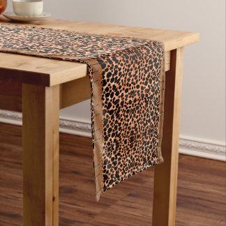 Chemin De Table Court Coureur luxueux de Tableau de léopard