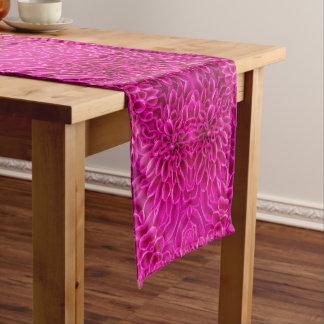 Chemin De Table Court Coureurs roses de Tableau de kaléidoscope de motif
