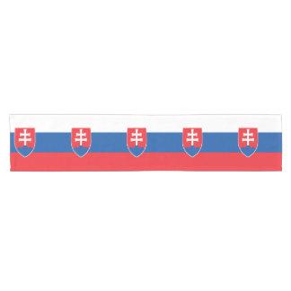 Chemin De Table Court Drapeau de la Slovaquie