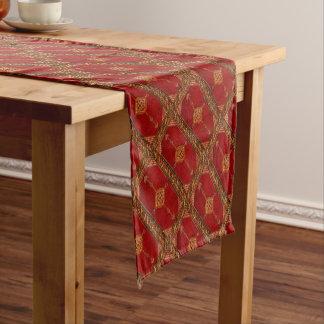 Chemin De Table Court Motif de tapis de Perse