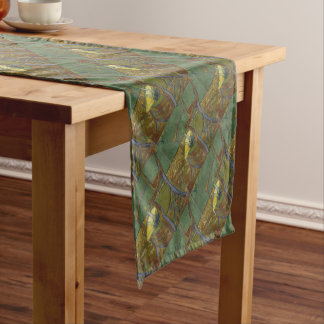 Chemin De Table Court Vincent van Gogh - peinture du fauteuil de Gauguin
