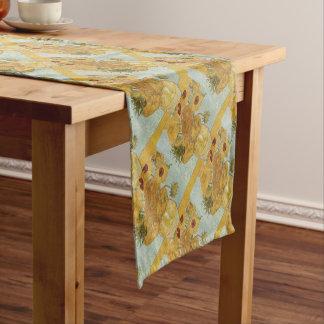 Chemin De Table Court Vincent van Gogh - tournesols - bel art floral