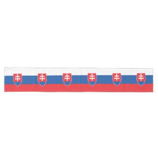 Chemin De Table Long Drapeau de la Slovaquie