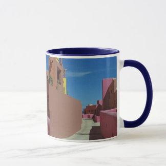Chemin de tasse de café de Cabo à travers les murs