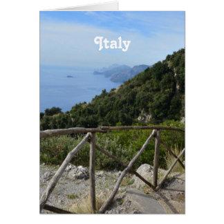 Chemin des dieux Amalfi Carte