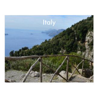 Chemin des dieux Amalfi Carte Postale