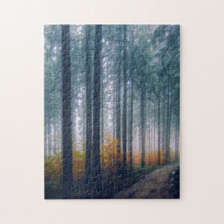 Chemin forestier majestueux puzzle