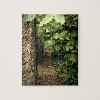 Chemin forestier tranquille puzzle