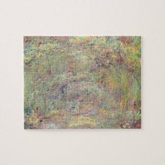 Chemin ombragé par | de Claude Monet Puzzle