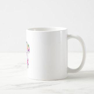 Chemise avec des anneaux de fractale mug
