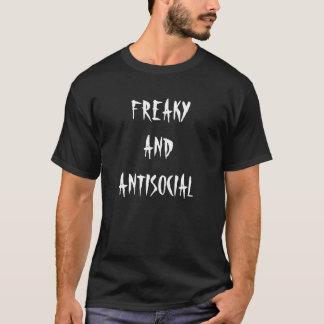 Chemise bizarre et antisociale t-shirt