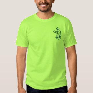 Chemise brodée par cactus  t-shirt brodé