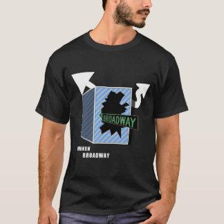 Chemise cassée de Broadway T-shirt