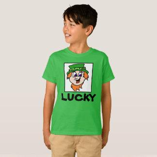 Chemise chanceuse du jour de St Patrick T-shirt