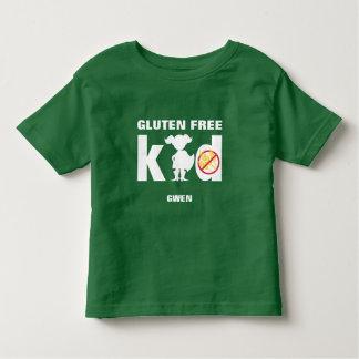 Chemise coeliaque de fille superbe libre d'enfant t-shirt pour les tous petits
