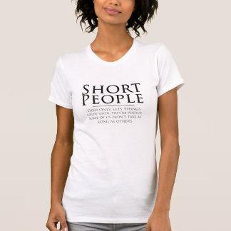 Chemise courte de personnes t-shirt