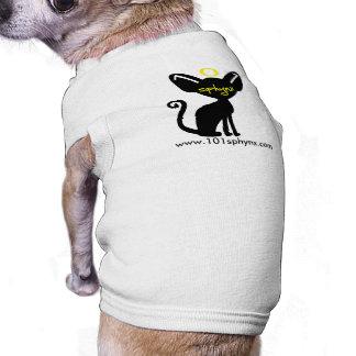 chemise d'animal familier de 101 sphynx tee-shirt pour toutou