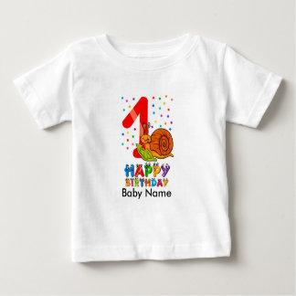 Chemise d'anniversaire de premier T-shirt
