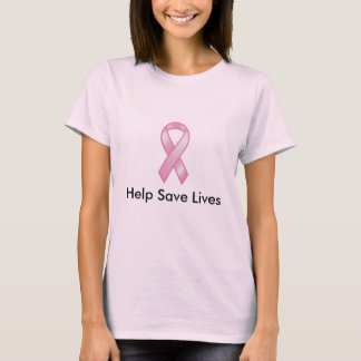 Chemise d'Awarness de cancer du sein T-shirt