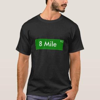Chemise de 8 milles t-shirt